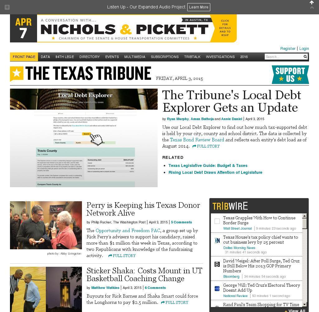 The Texas Tribune