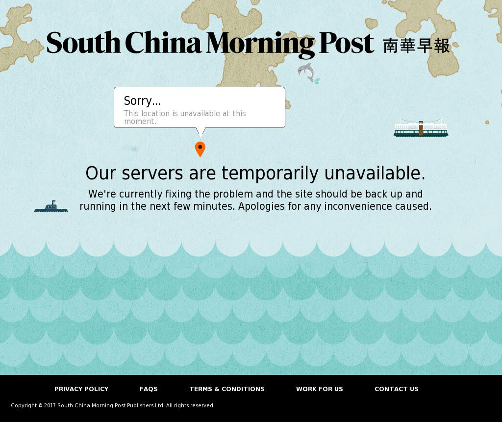 South China Morning Post at Monday Aug. 28, 2017, 8:18 a.m. UTC
