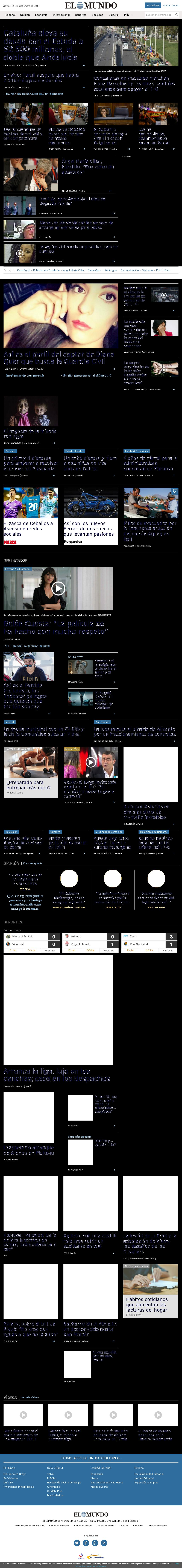 El Mundo at Friday Sept. 29, 2017, 11:10 a.m. UTC