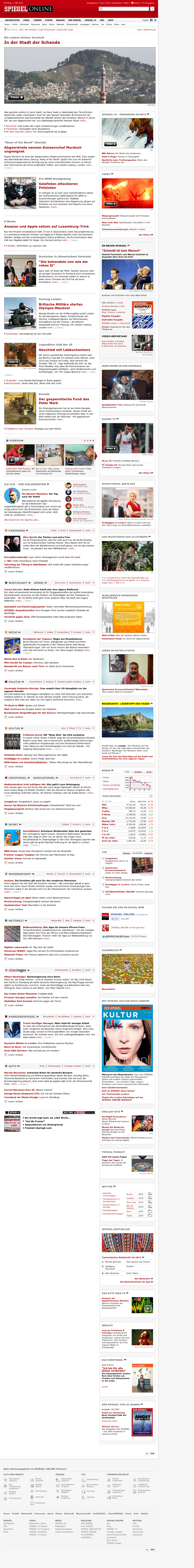 Spiegel Online at Tuesday May 1, 2012, 1:13 p.m. UTC