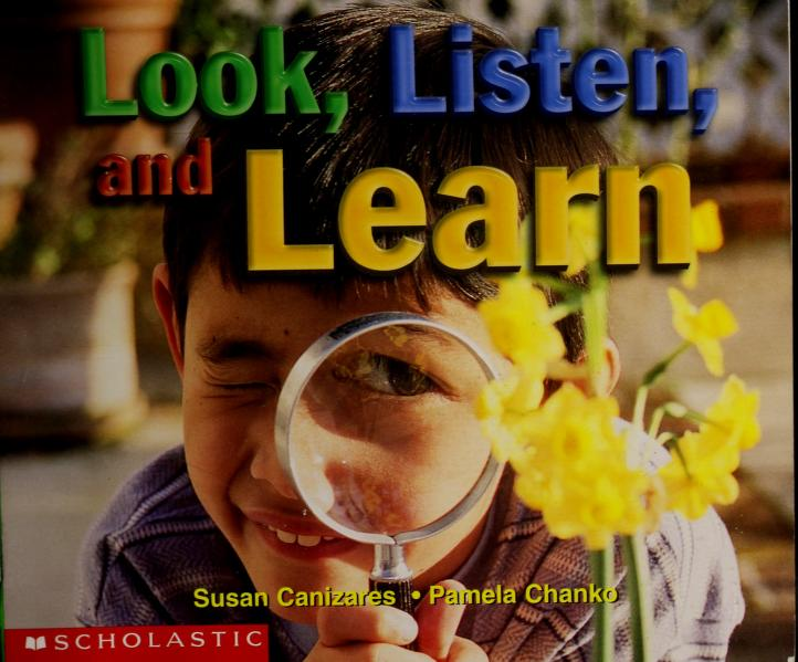 Look, Listen, and Learn (Learning Center Emergent Readers) by
